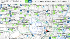 待望の東京版。「まずは地図を公開。これからみんなの協力で育てていきたい。」